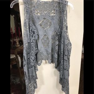 Tops - Crocheted vest